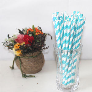 Flexible Paper Drinking Straw for Party pictures & photos
