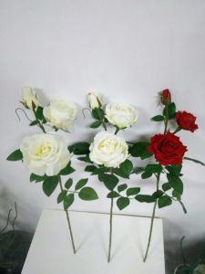 Artificial Flowers of Mini Hibiscus 68cm Gu-D70187 pictures & photos