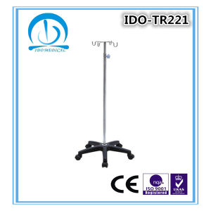 High Quality Wholesale Hospital IV S. S. Infusion Drip Stand pictures & photos
