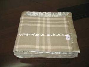 Merino Virgin Fine Wool Blanket (NMQ-WT002) pictures & photos