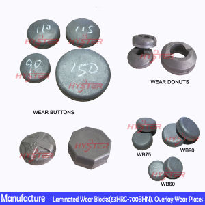 ASTM A532 Chromium Carbide Bimetallic Wear Button pictures & photos