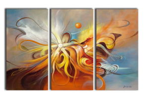 Abstract Oil Pianting for Wall Decoration pictures & photos