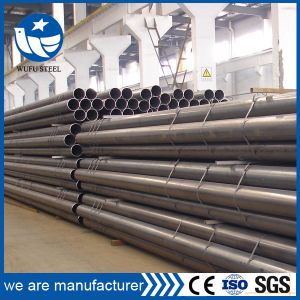 Directly Selling Carbon Black Welded Steel Pipe pictures & photos
