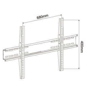 Ultra-Slim Wall Mount Bracket TV Rack for LCD LED Plasma pictures & photos