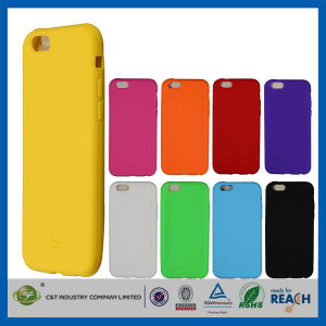 C&T 2014 Wholesale Softgel Rubber Silicone Case for iPhone 6 pictures & photos