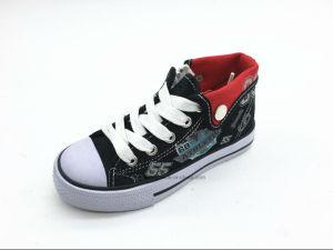 Wholesale Canvas Casual Kids Sneaker Shoes (ET-LH160275K) pictures & photos