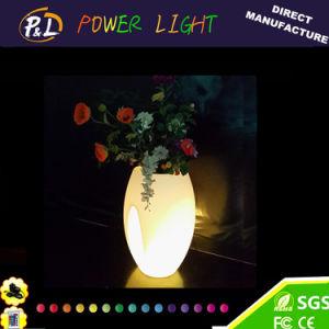 Garden Furniture Luminous LED Round Pot pictures & photos