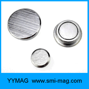 High Quality Brushed Metal Silver Magnetic Pin pictures & photos