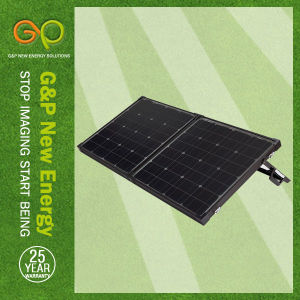 Folding Solar Panel 80W Black (GPM80W-2FB) pictures & photos