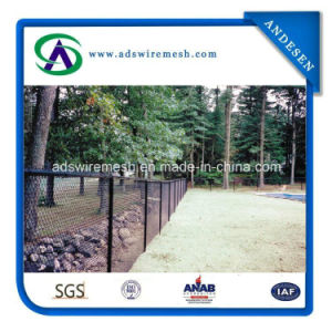 9 Gauge Woven Chain Link Fence Wire Mesh Fence Chain Link Fencing pictures & photos