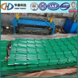 Glazed Color Coated Steel Roofing Sheet with Competitive Price pictures & photos