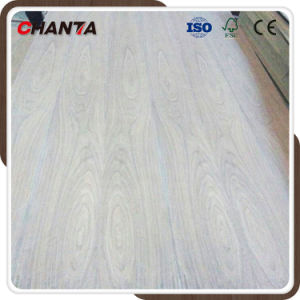 Oak Teak Ash Beech Veneered Plywood for Decoration pictures & photos