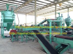 Waste Tyre Recycling Machine / Waste Tyre Shredding Line pictures & photos