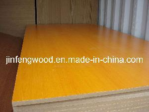 Wood Grain Color Melamine MDF with Surface Embossed / Matt / Smooth pictures & photos