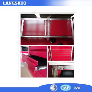Red Garage/Kitchen Used Metal Cabinet with Drawers and Lockers pictures & photos