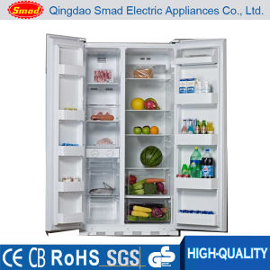 Side by Side No Frost Refrigerator with Icemaker pictures & photos