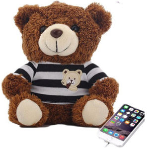 Customized Portable Cute Cartoon Teddy Bear Power Bank 10000mAh Capacity Mobile Power Bank pictures & photos