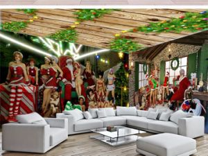 Customized Christmas Decoration Painting, LED Paiting pictures & photos