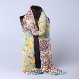 2016 Top Sale Fashion Printed Silk Scarf Ss1020