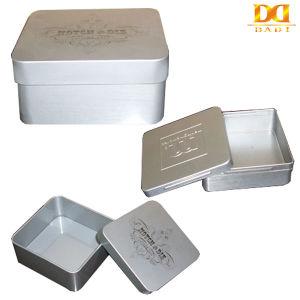 Square Metal Tin Box with Custom Logo