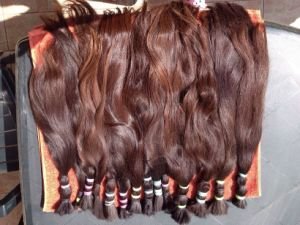 Unprocseed Natural Virgin Russian Remy Human Hair Bulk pictures & photos