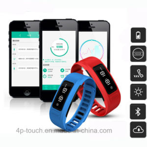 Bluetooth4.0 Smart Bracelet Compatible with Android and iPhone (H6) pictures & photos