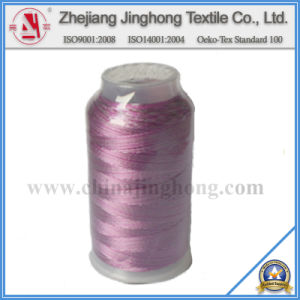 Multi-Color Polyester Embroidery Thread (108d/2)