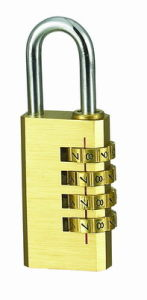 Solid Brass Combination Padlock Code Lock (110284) pictures & photos