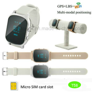 Adult Smart GPS Tracker Watch with Two Way Communication T58 pictures & photos