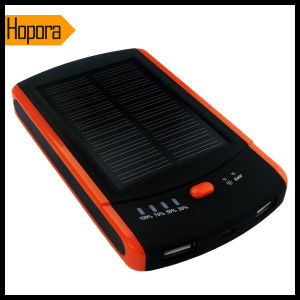Mini 6000mAh Solar Energy Panel Mobile Cell Phone Power Bank pictures & photos