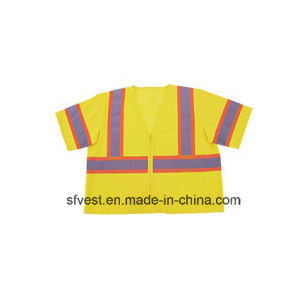 Safety Vest Construction High Visibility Vests for Man Safety Wokwear Reflective Safety Vest High Visibility Clothing pictures & photos