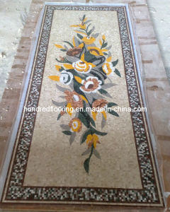 Stone Mosaic Floor Tile Marble Mosaic Pattern (ST108) pictures & photos