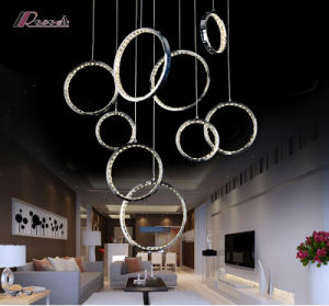 Hotel Project Simple Design K9 Crystal Chandelier for Lobby pictures & photos