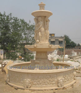 Stage Water Fountain for Garden Stone Marble Fountain (SY-F178) pictures & photos