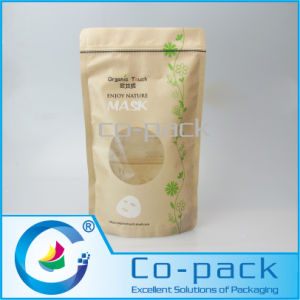 Paper Plastic Laminated Ziplock Bag for Mask Packing