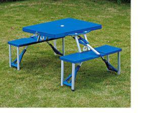 Steel Plastic Folding Table