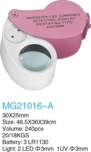 Jewelry Magnifier (MG21016-A) pictures & photos