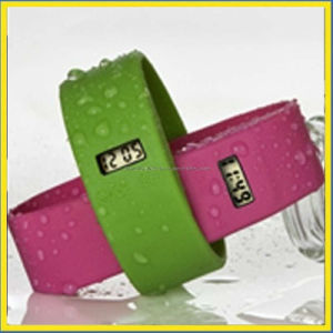 Promotion Gift Silicone Wristband Watch / Silicone Watches