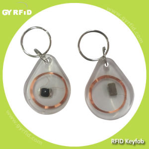 Kea32 Transparent Clear Crystal Keyfobs, Em4200 Keychain Key Card Tag pictures & photos