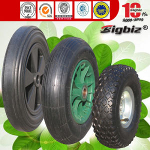 "Good 8"" 10"" 12"" 15 Inch Solid Small Rubber Wheel pictures & photos"