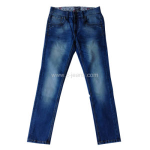 Hight Quality Blue Fashion Jeans White Wash Jeans