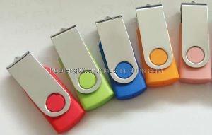 Swivel Plastic USB Flash Drive
