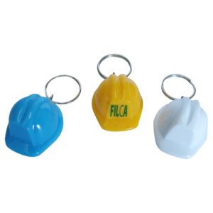 2016 Promotional New Design Plastic Safety Helmet Keychain pictures & photos