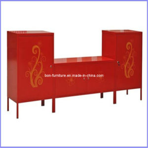 Living Room TV Furniture/Red Steel TV Table pictures & photos