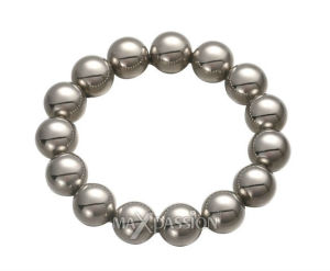 Adult Toy for Men - Silver Dream Stainless Steel Beaded Cock Ring