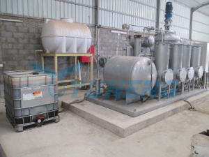 Yuneng Tyre Oil Convert to Diesel Distillation System pictures & photos