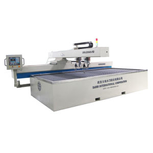 Water Jet Cutting Machine Double Cutting Head CNC Cutting Table (DWJ2040-FB) pictures & photos