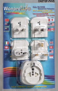 Universal Travel Adaptor-OASTGF-P4vs(Socket, Plug) pictures & photos