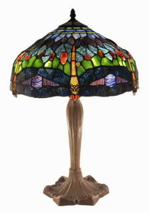 Tiffany Stained Table Lamp