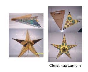 Christmas Star Lantern Paper Lantern